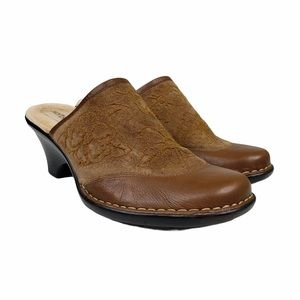 Softspots Leather Mules